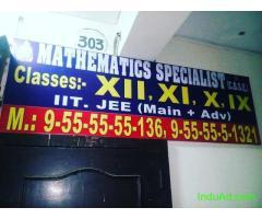 Mathematics Specialist-CBSE Dwarka