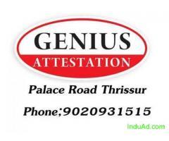 Nursing certificate attestation