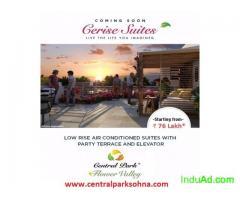 Central Park 3 Flower Valley Cerise Suites Sohna Road