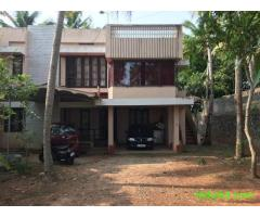 A 3bhk ground floor of a house for rent near aakulam.