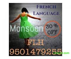 French lessons at 30 % off call 9501479255 FLH