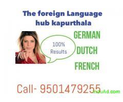 Classes for german language in kapurthala- 9501479255