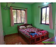 Goa vacation rooms near Benaulim beach