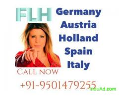 learn German A1 for spouse visa call 9501479255
