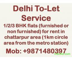 DELHI TO LET SERVICE 987148O397