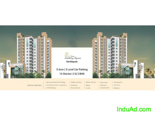 2 BHK Apartments for Sale in Bandlaguda