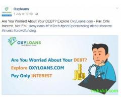 oxyloans is a revolutionary fintech platform. we encourage peer to peer lending and borrowing.