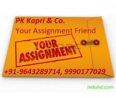 TMA, Assignment, We have solved assignment of 10th,12th, M.com