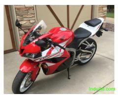 2012 Honda CBR600RR Super Bike 9200 Kms Red 280026