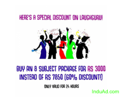 E-learning services for school students at Rs. 3000 with 1.5 years fee