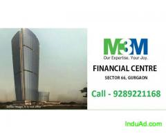 M3M financial Center Commercial Space Sector 66 Gurgaon