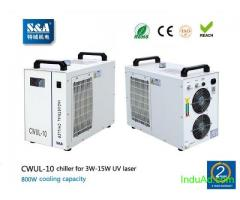 S&A air cooled water chiller CWUL-10 for 3W-15W UV laser