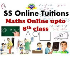 Affordable online tuition classes for Maths upto 8th class