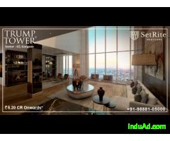Trump Towers Apartments Delhi NCR Gurgaon +91-98881-05000